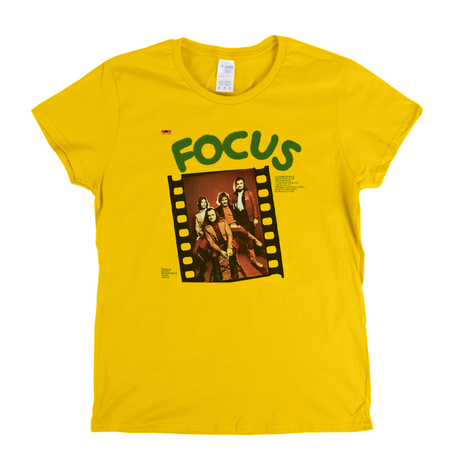 Focus Album Womens T-Shirt