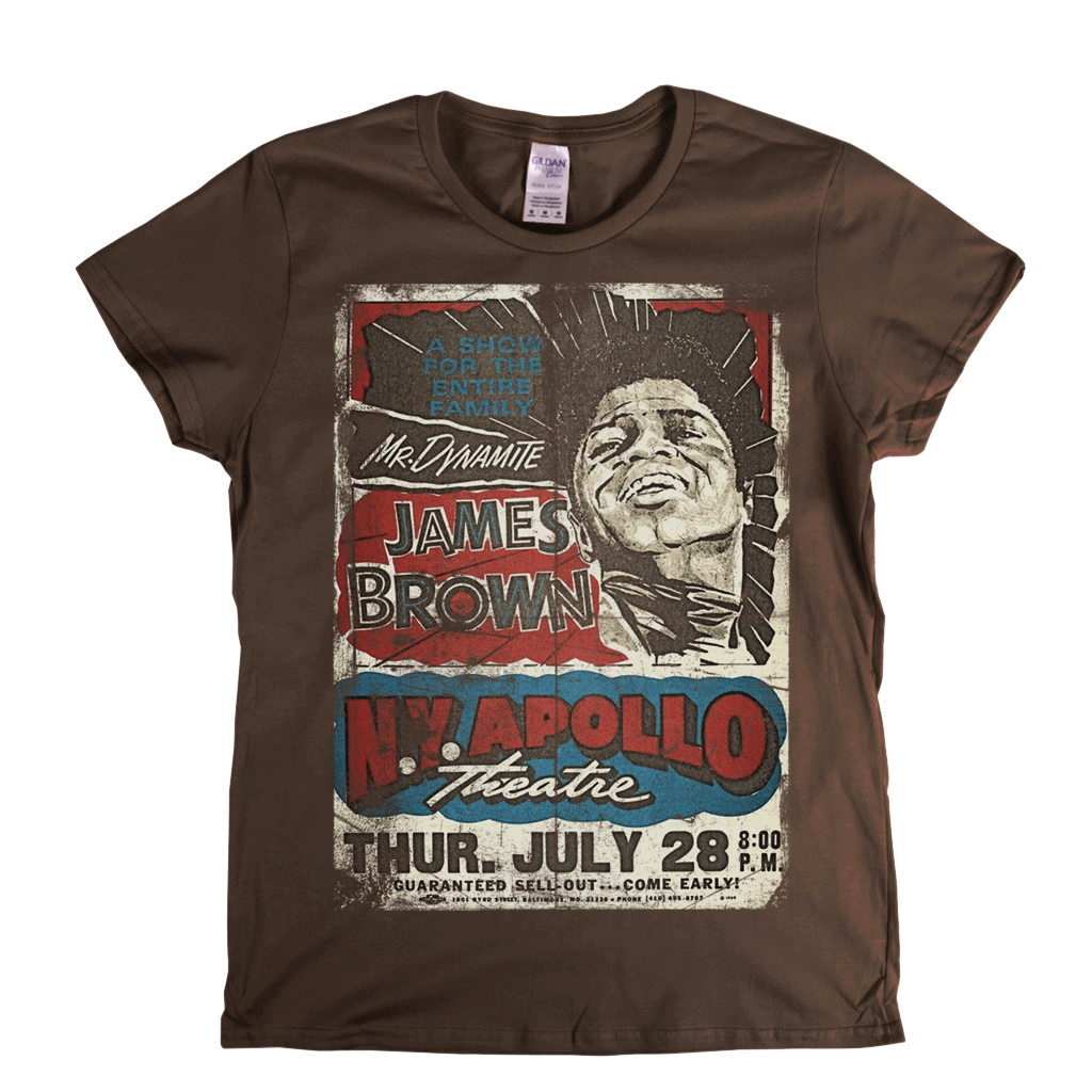 James  Apollo Poster Womens T-Shirt
