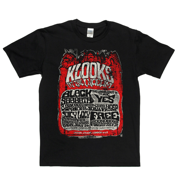 Klooks Live At The Lyceum T-Shirt