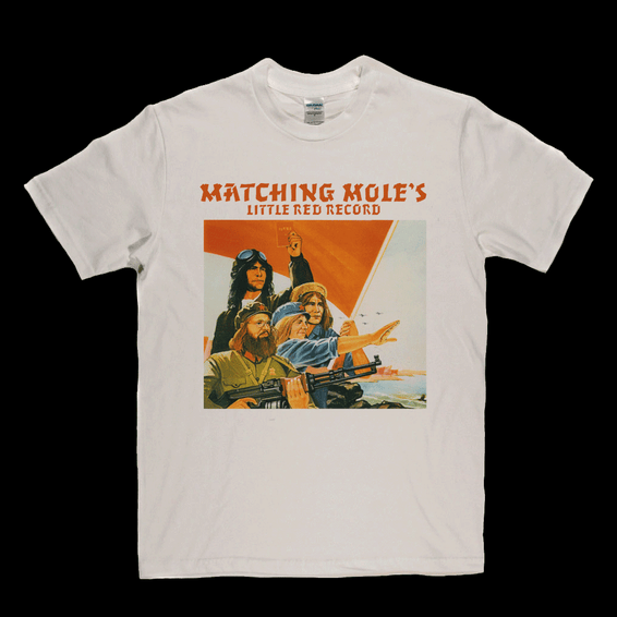 Matching Moles Little Red Record T-Shirt