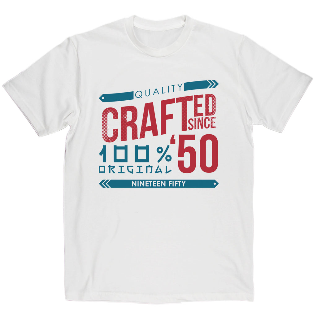 Crafted in 1950 Year T Shirt