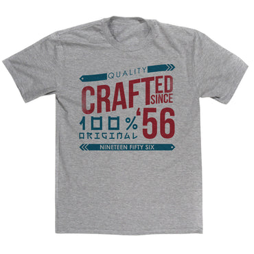 Crafted in 1956 Year T Shirt