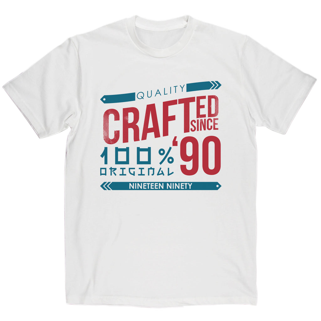 Crafted in 1990 Year T Shirt