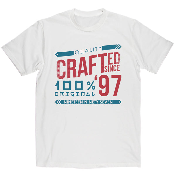Crafted in 1997 Year T Shirt