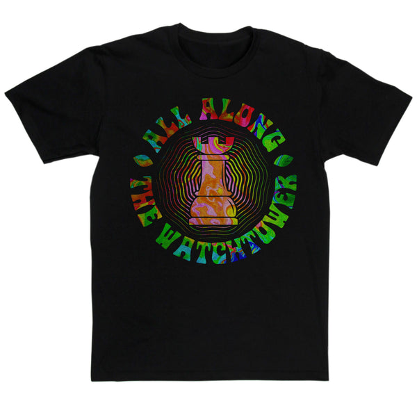 Hendrix Inspired - All Along The Watchtower T Shirt