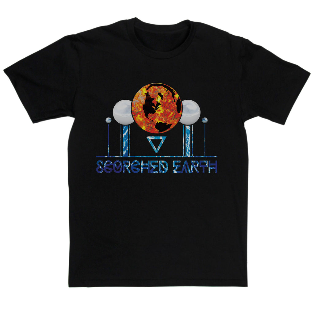 Van Der Graaf Generator Inspired - Scorched Earth T Shirt