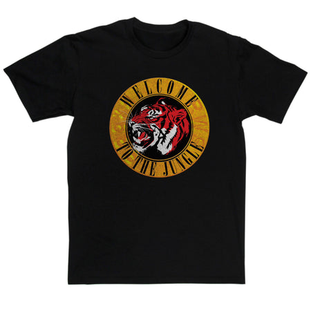 Guns and Roses Inspired - Welcome To The Jungle T Shirt