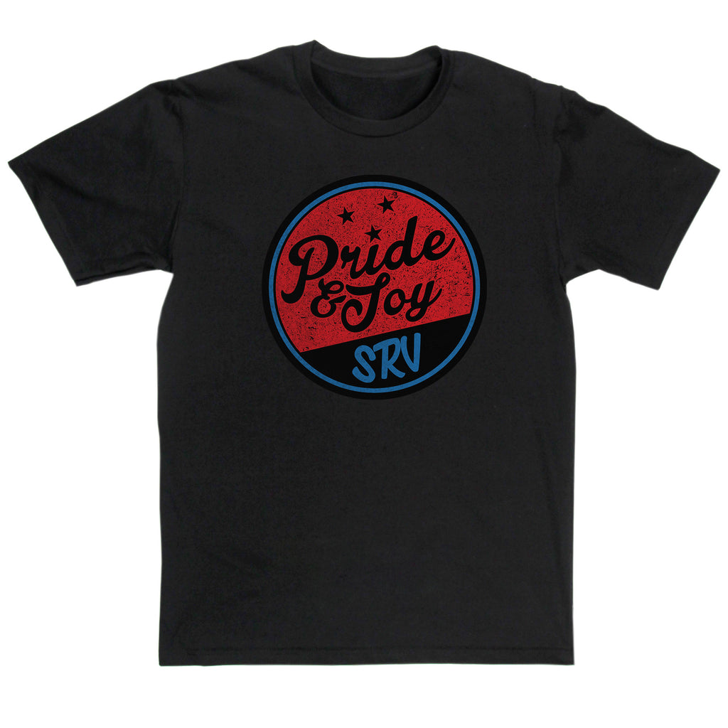 Stevie Ray Vaughan Inspired - Pride & Joy T Shirt