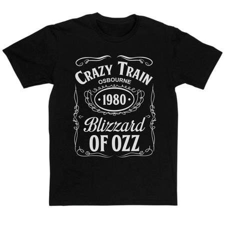 Ozzy Osbourne Inspired - Crazy Train T Shirt