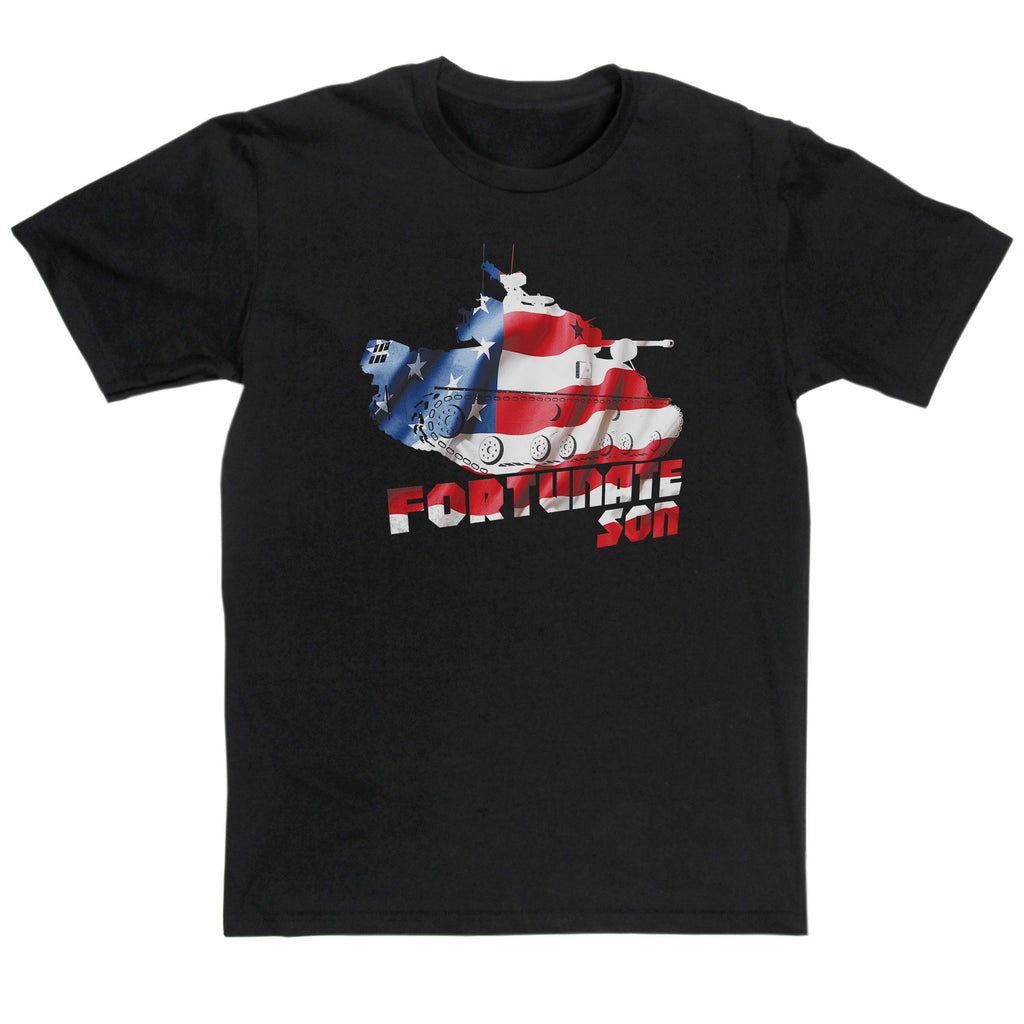 Creedence Clearwater Revival Inspired - Fortunate Son T Shirt