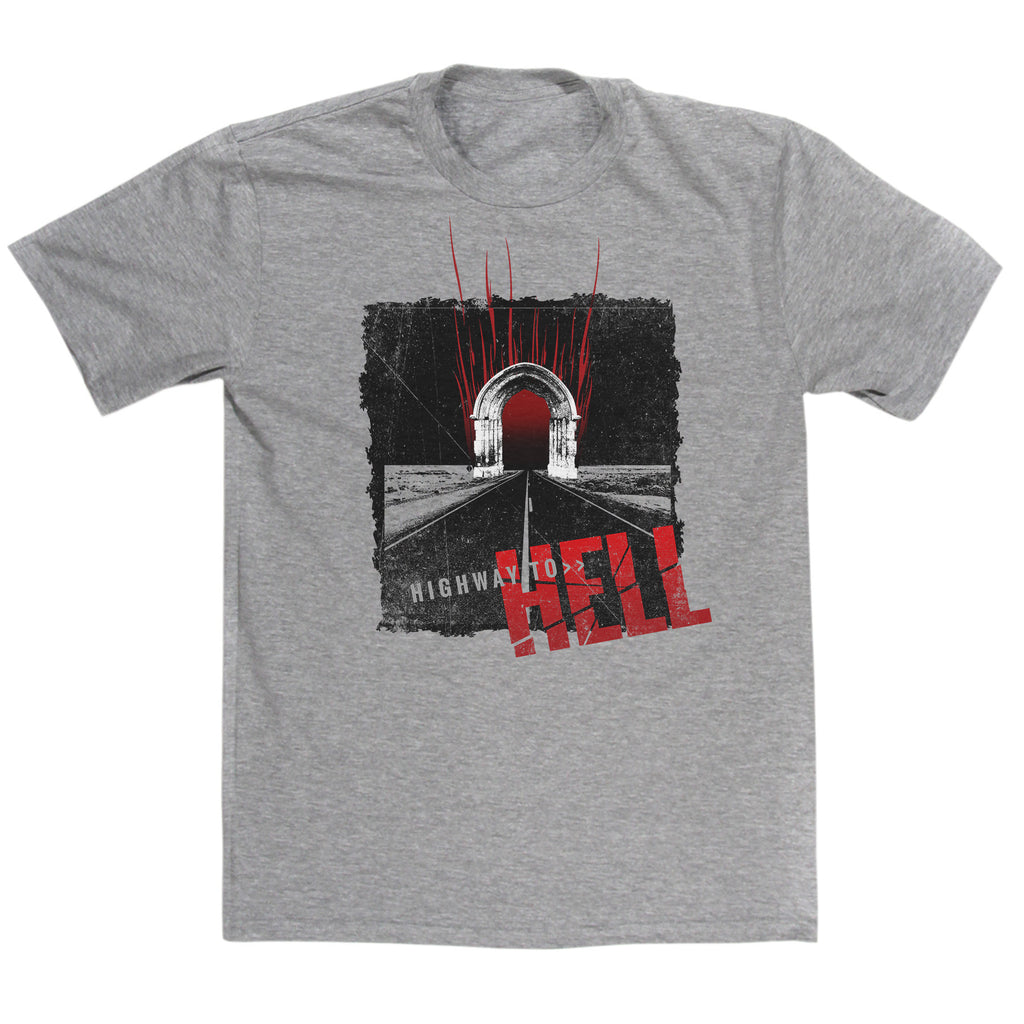 ACDC Inspired Highway To Hell T Shirt