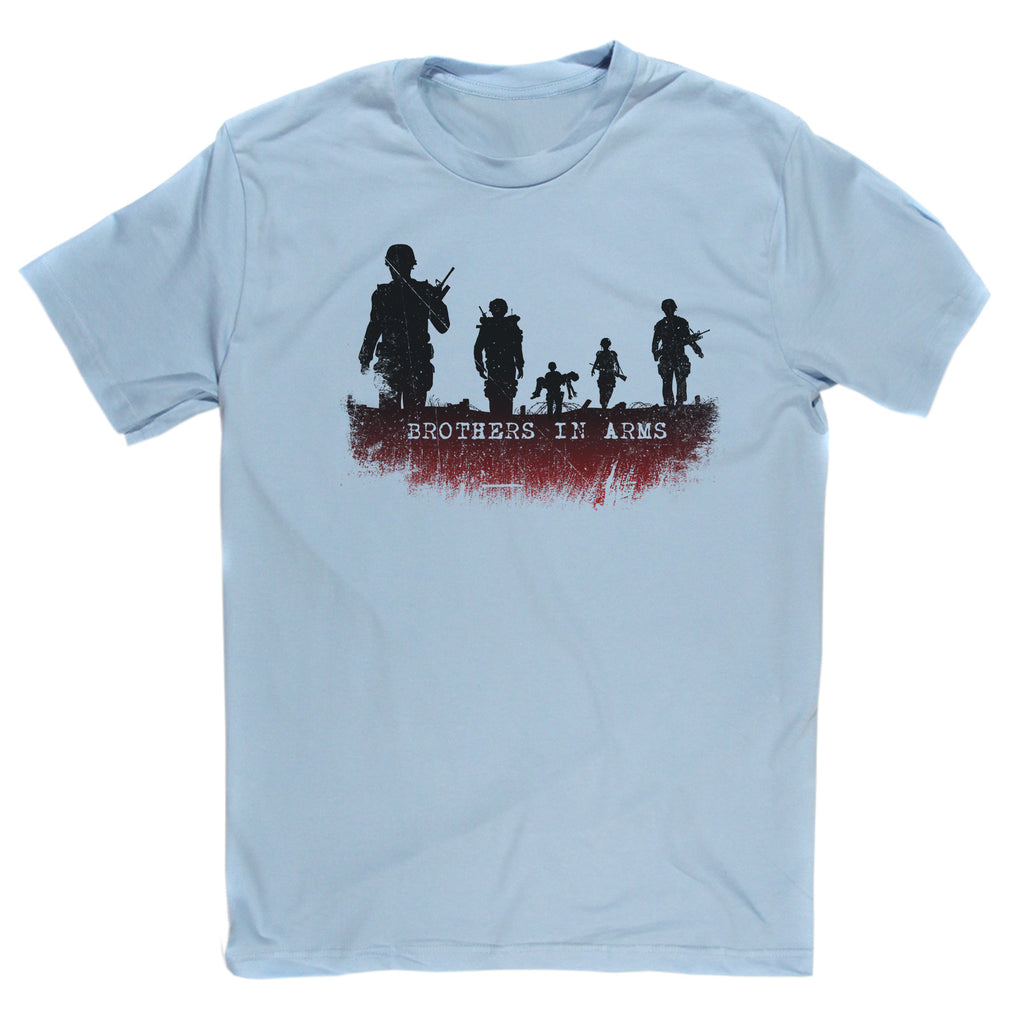 Dire Straits Inspired Brothers In Arms T Shirt Djtees Com