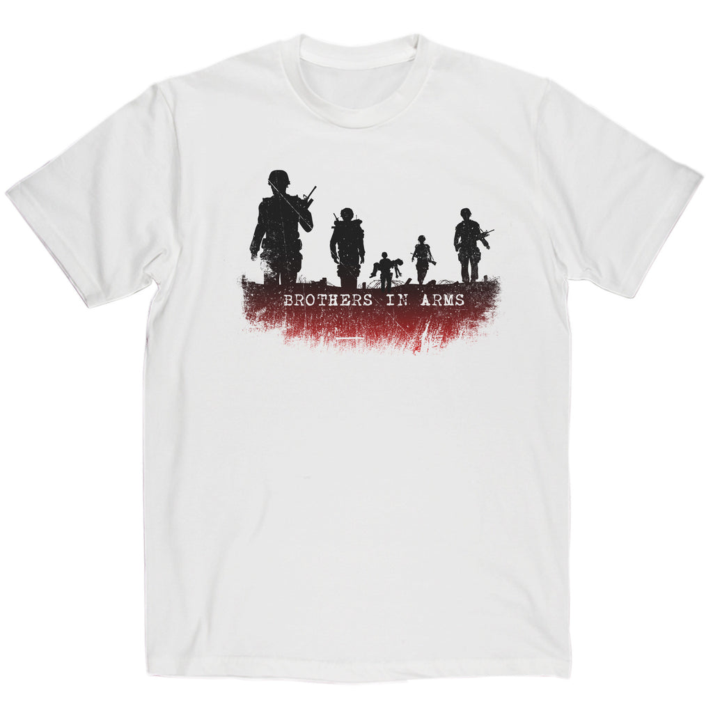 Dire Straits Inspired - Brothers In Arms T Shirt