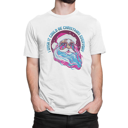 Wizzard Inspired - I Wish It Could Be Christmas Every Day T Shirt