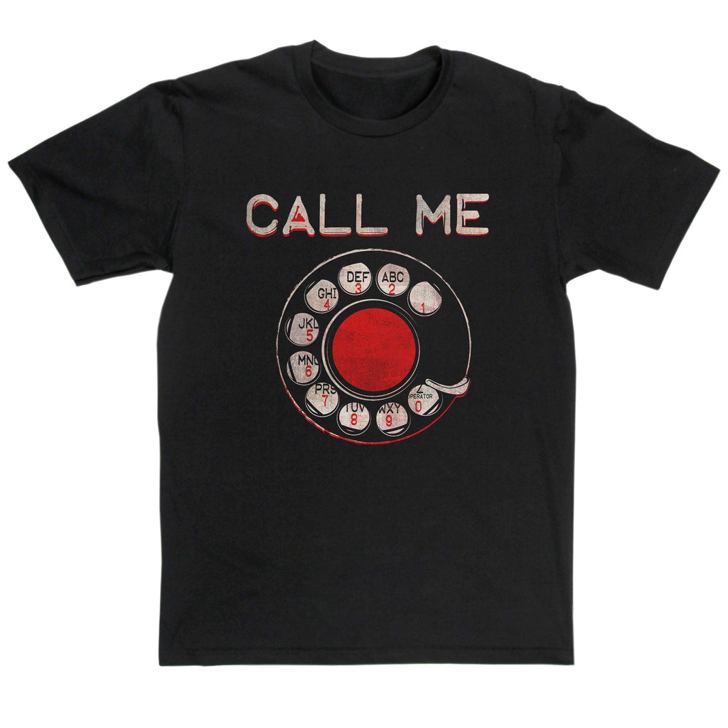 Blondie Inspired - Call Me T Shirt