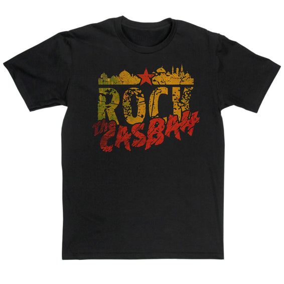 The Clash Inspired Rock THe Casbah T Shirt