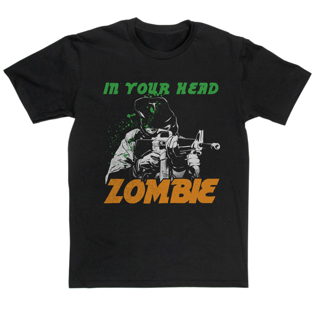The Cranberries Inspired - In Your Head Zombie T Shirt