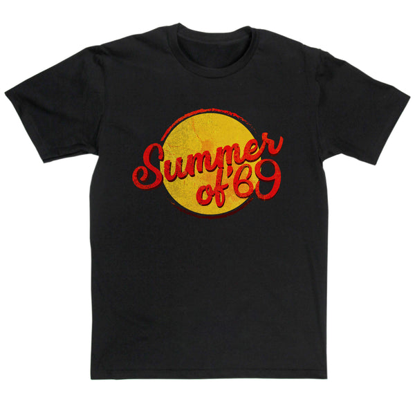 Bryan Adams Inspired - Summer Of 69 T-shirt