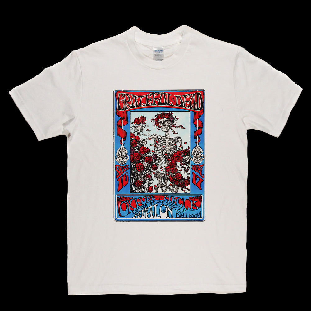 Grateful Dead Limited Edition Poster T-shirt