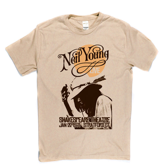 Neil Young Poster T-shirt