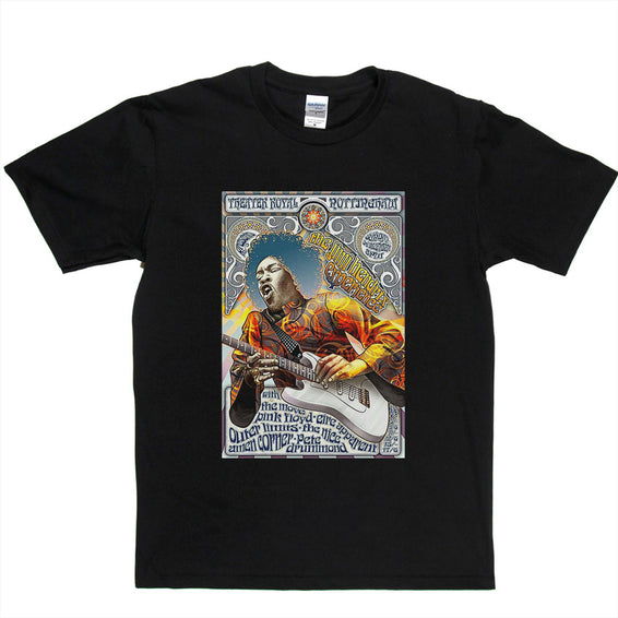 Hendrix Experience Limited Edition Poster T-shirt