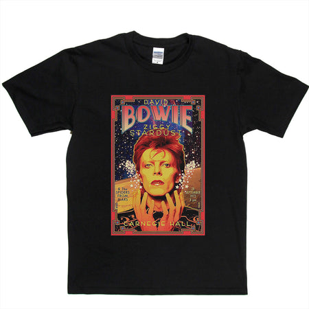 David Bowie Ziggy Stardust Limited Edition Poster T-shirt