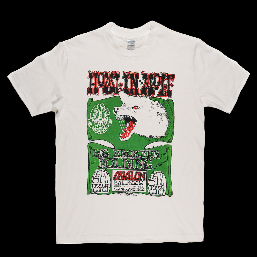 Howlin Wolf Limited Edition Poster T-shirt