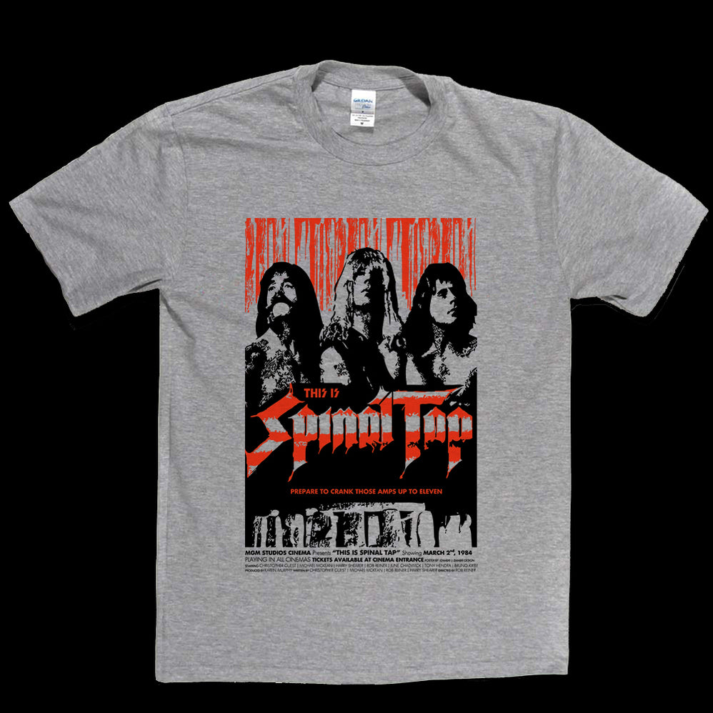 Spinal Tap Limited Edition Poster T-shirt
