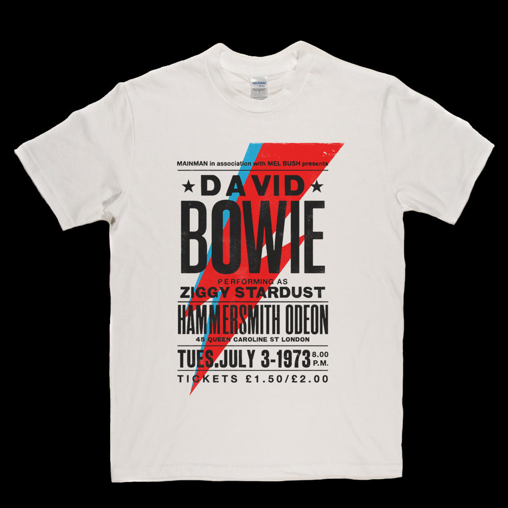 David Bowie Limited Edition Poster T-shirt