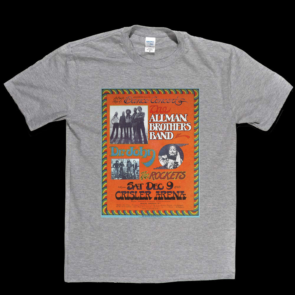 Allman Brothers Band Poster T-shirt