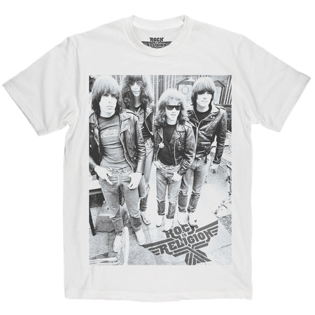 Rock is Religion Ramones T Shirt