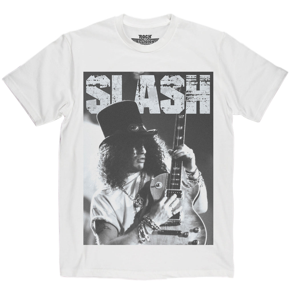 Rock is Religion Slash T Shirt