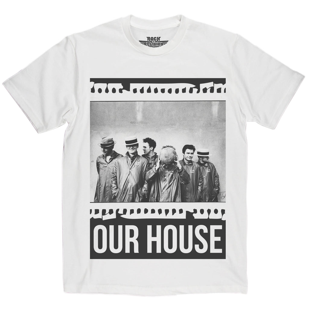 Rock is Religion Madness Our House T Shirt