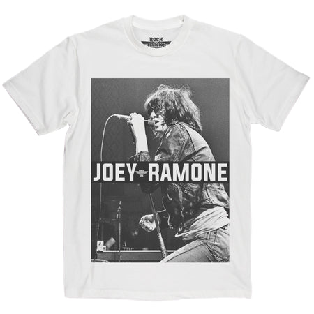 Rock is Religion Joey Ramone T Shirt
