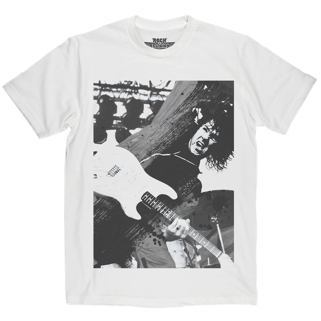 Rock is Religion Gary Moore T Shirt