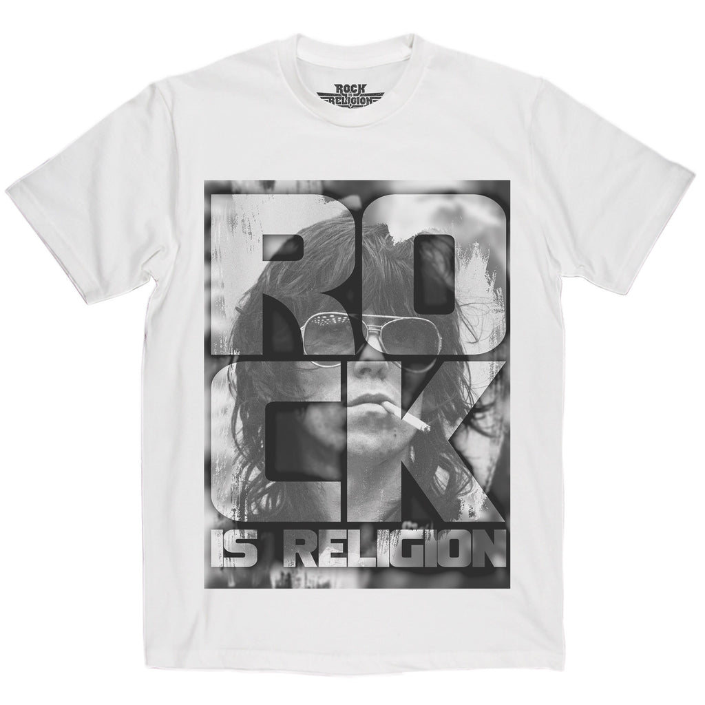 Rock is Religion Keith Richards T Shirt