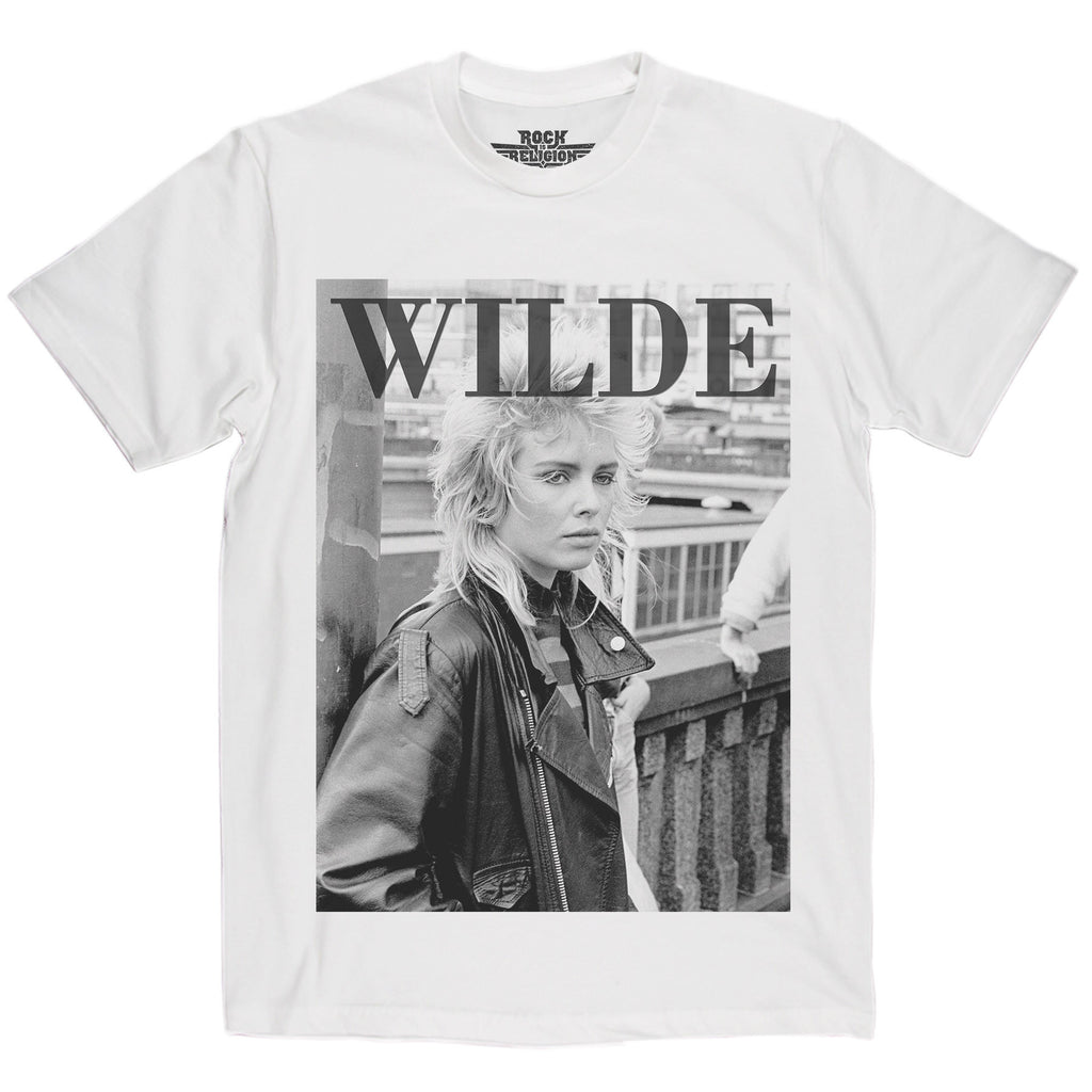 Rock is Religion Kim Wilde T Shirt