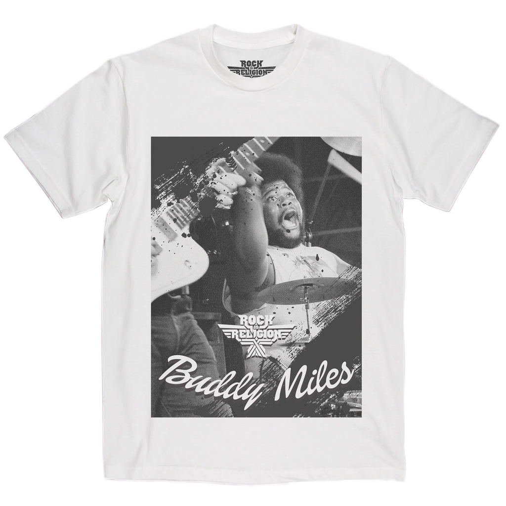 Rock is Religion Buddy Miles T Shirt