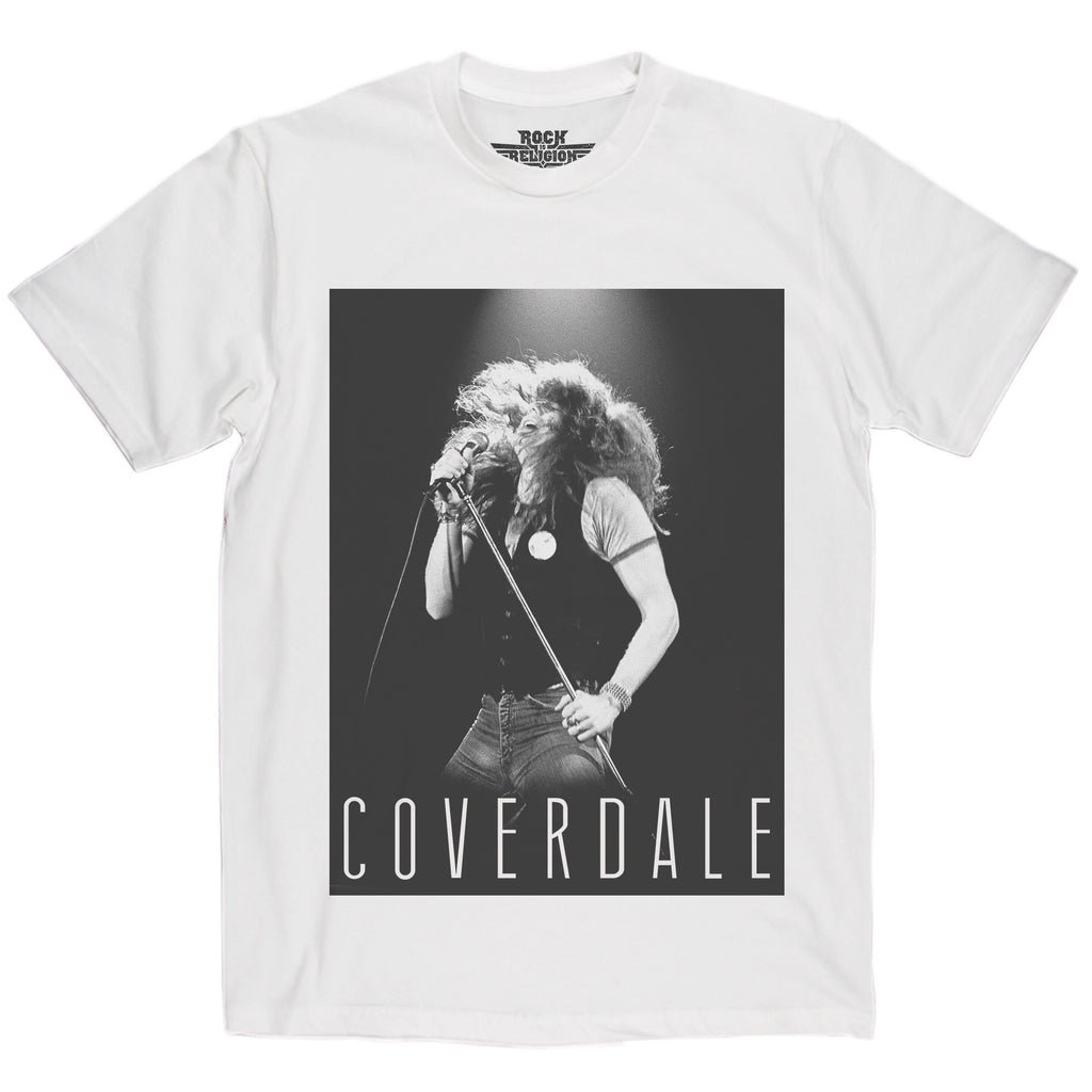 Rock is Religion David Coverdale T Shirt