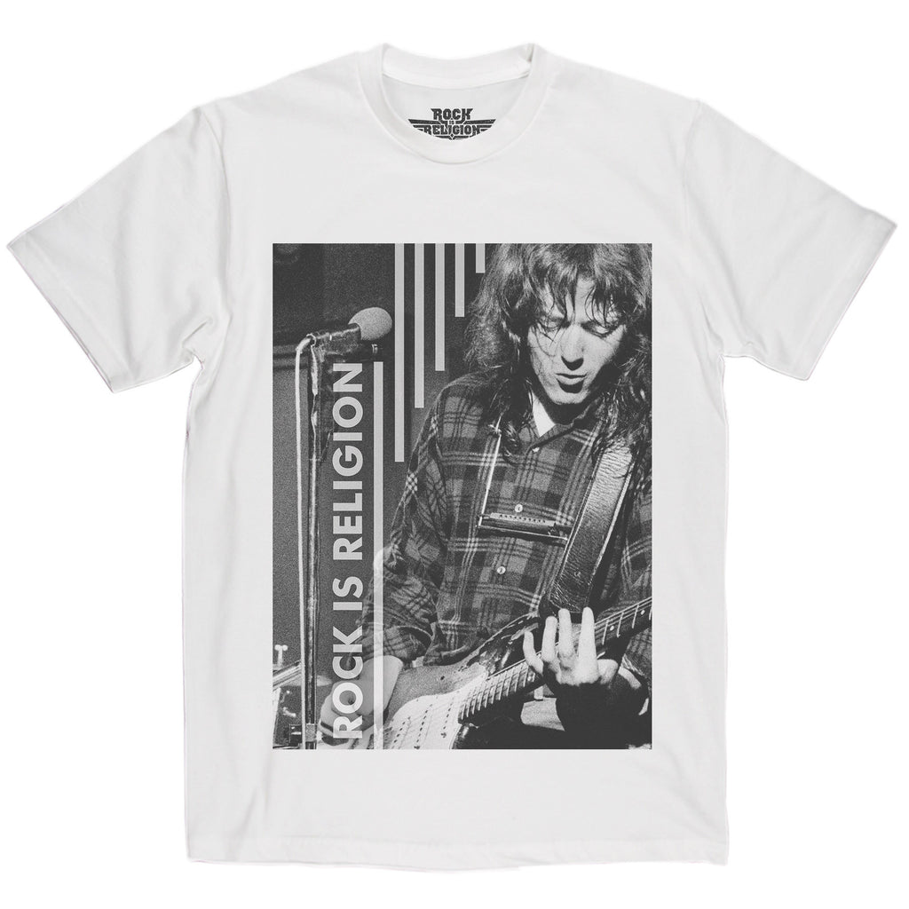 Rock is Religion Rory Gallagher T Shirt