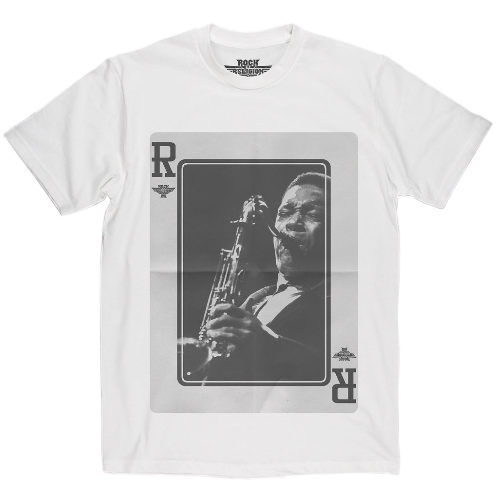 Rock is Religion John Coltrane T Shirt