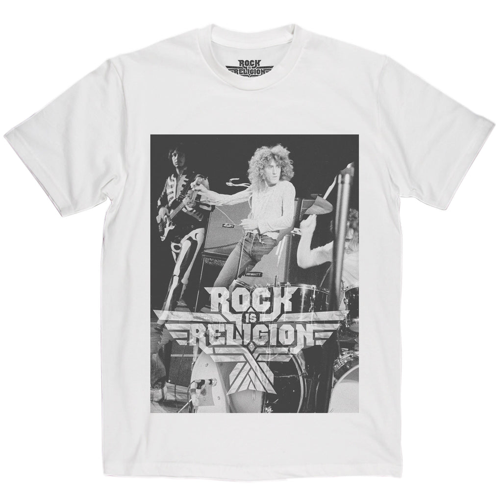 Rock is Religion Roger Daltry T Shirt