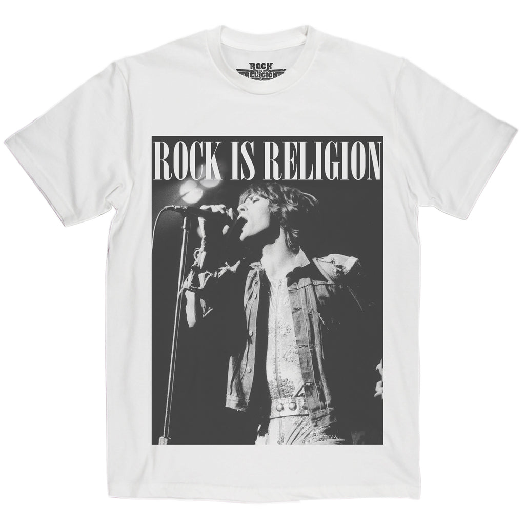 Rock is Religion Mick Jagger T Shirt