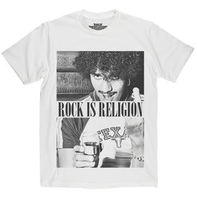 Rock is Religion Phil Lynott T Shirt