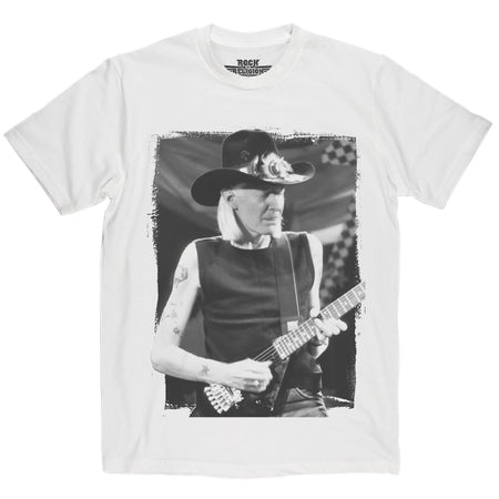 Rock is Religion Johnny Winter T Shirt