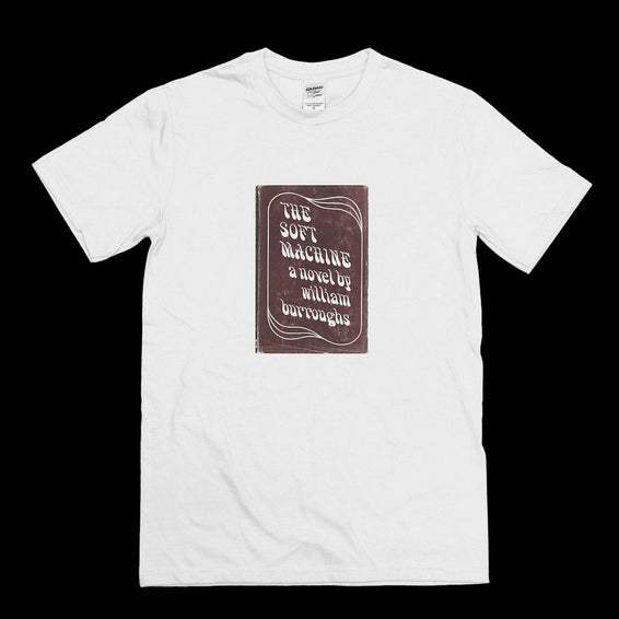 Soft Machine William Burroughs Vintage Book T-shirt