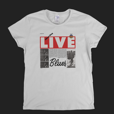 Albert King Live Womens T-Shirt