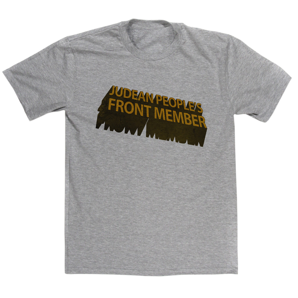 Monty Python's Life Of Brian Inspired - Judean People's Front Member T Shirt