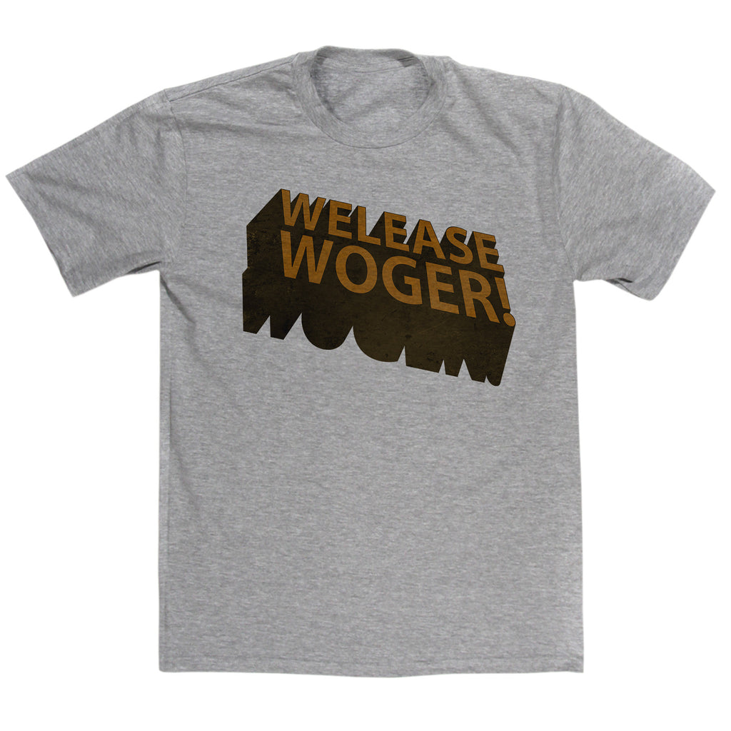 Monty Python's Life Of Brian Inspired - Welease Woger T Shirt