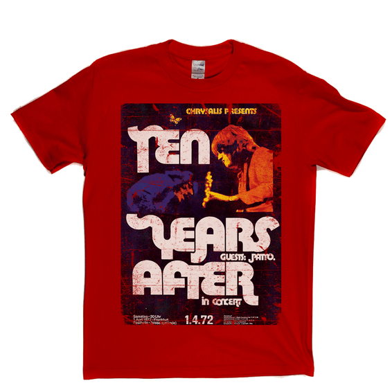 Ten Years After In Concert Poster T-Shirt